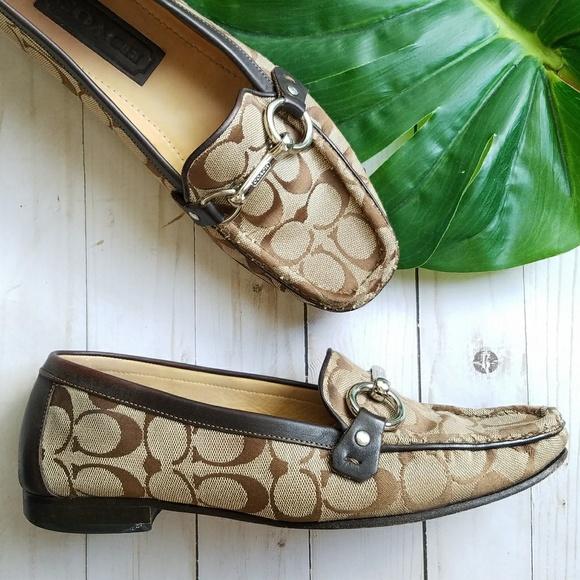 d8fb7ddd5e3 Coach Shoes - Coach Emma Signature C Loafers